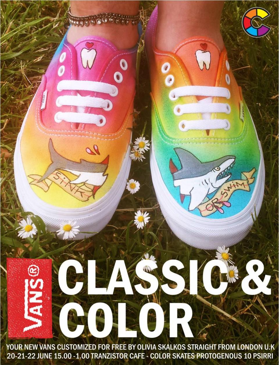 7aa48a3f3c Vans Classic and Color 20-22 June