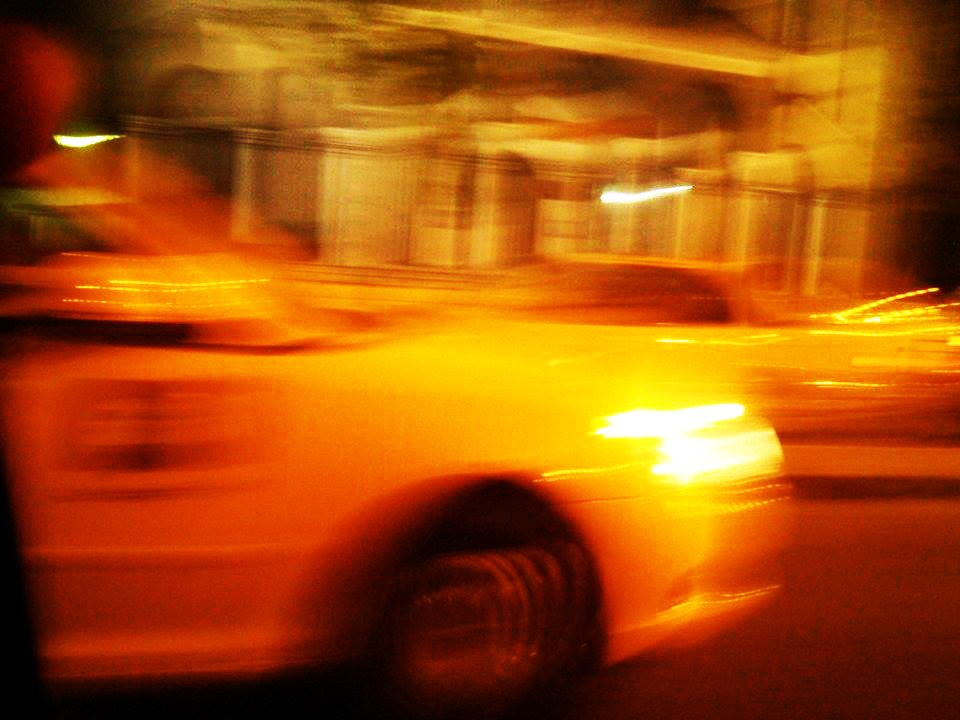 Taxi by night