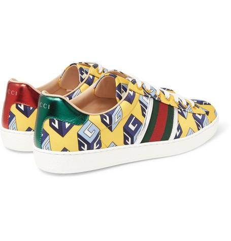 71d2c7eda89 Μπορείτε να αγοράσετε τα αθλητικά παπούτσια Gucci Ace στην τιμή των €460  από το MR PORTER.