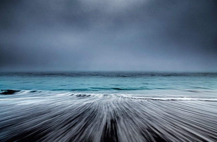 Φωτογραφίες ανάμεσα σε ουρανό και θάλασσα