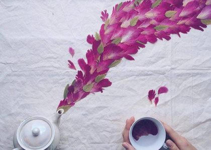 floral κατασκευές