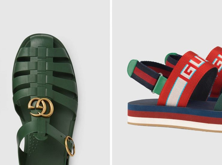 45d188e05f Η συλλογή με τα νέα σανδάλια του οίκου Gucci
