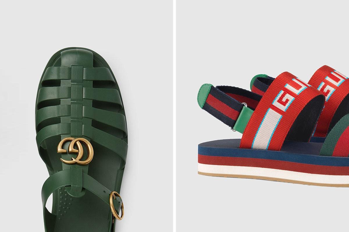 f5d00a6b02 Η συλλογή με τα νέα σανδάλια του οίκου Gucci