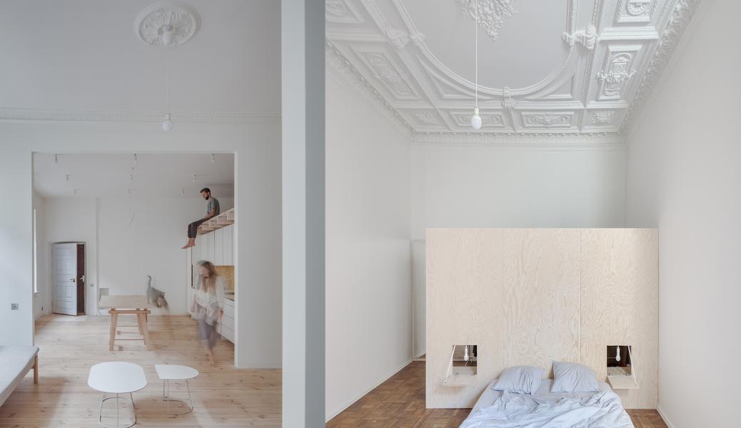 41a94c0a4d2 Ένα μοντέρνο διαμέρισμα σε αριστουργιματικό κτίριο της Λιθουανίας