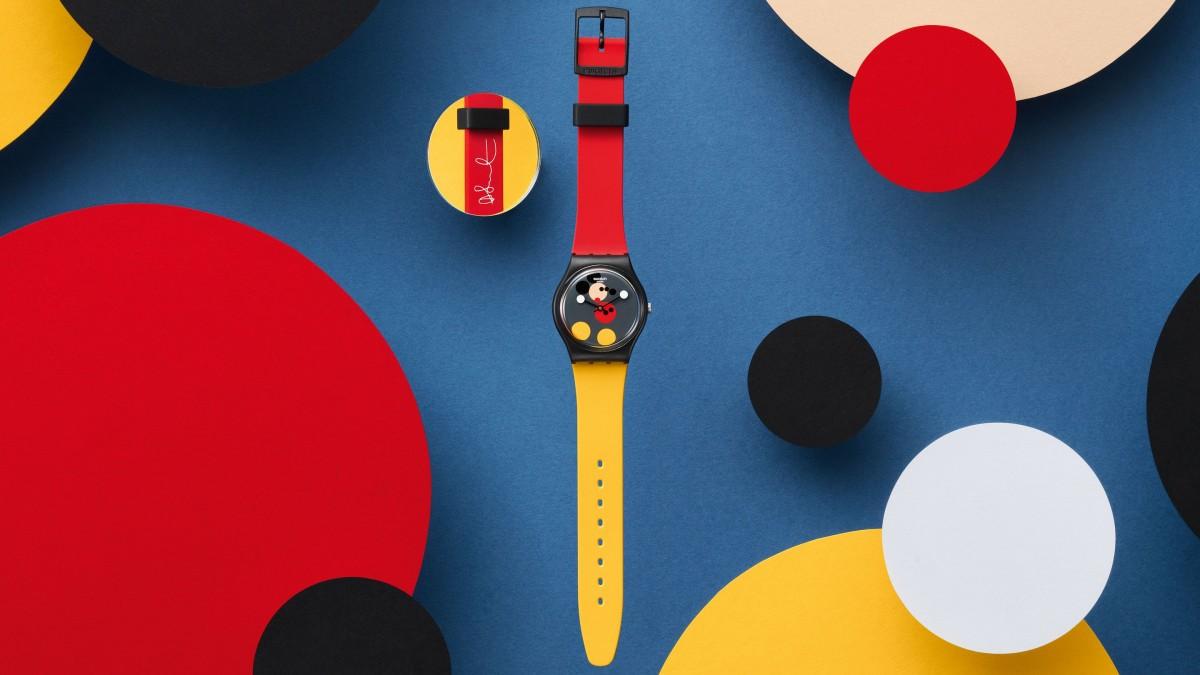 Τα νέα ρολόγια της Swatch για τα γενέθλια του Mickey Mouse a31a8576fa3