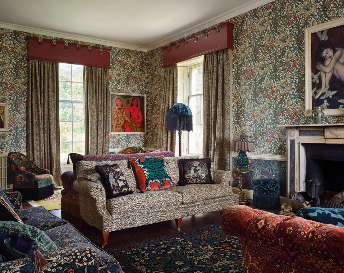 House of Hackney Castle of Trematon Interiors 1
