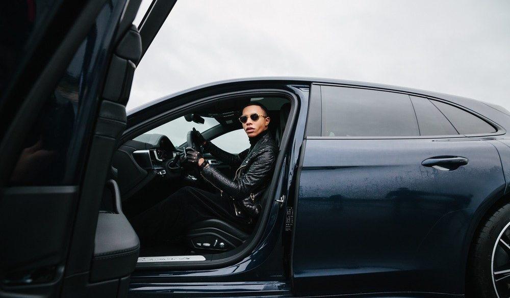 Porsche collaborates with Balmains Creative Director Olivier Rousteing
