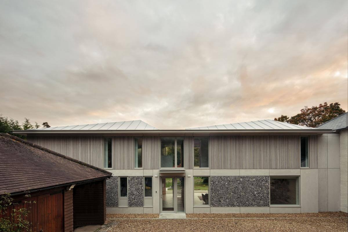 copy of 16 cherry tree house front of house view guttfield architecture will scott