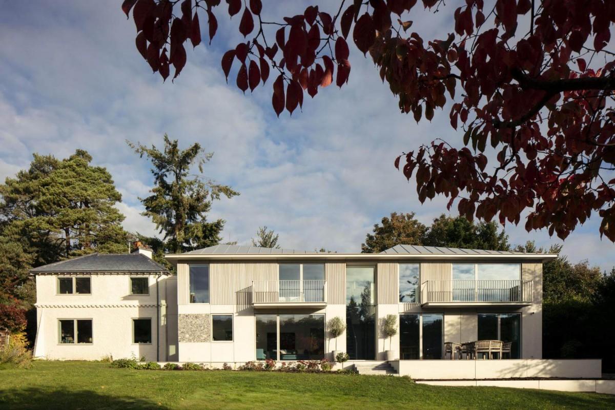 copy of 8 cherry tree houseback garden view guttfield architecture will scott