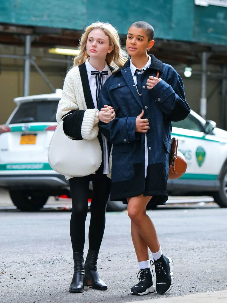 emily alyn lind and jordan alexander are seen at the film news photo 1617036716