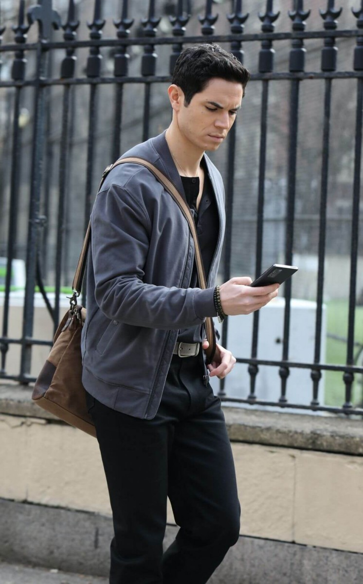 jason gotay is seen on the set of gossip girl on march 04 news photo 1617036671