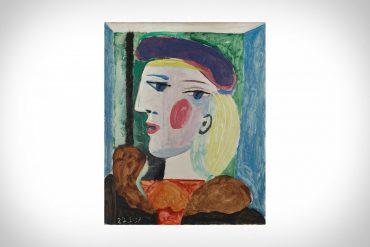 picasso femme au beret mauve