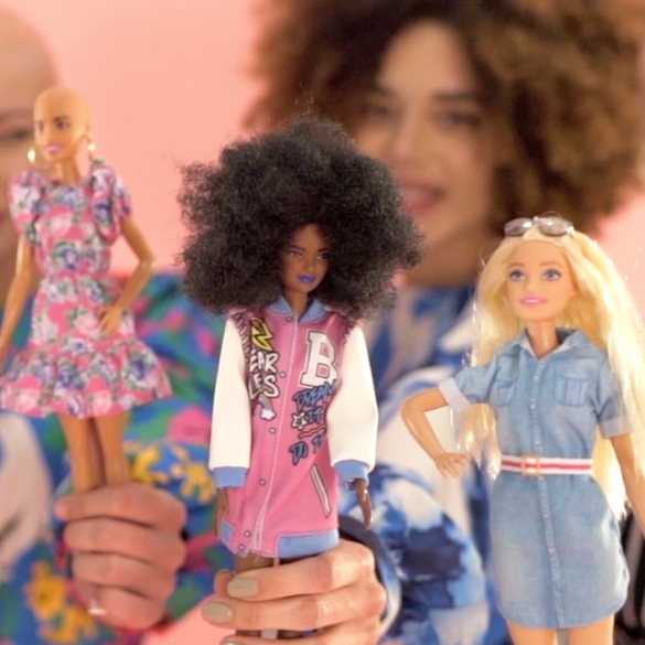 barbie intro
