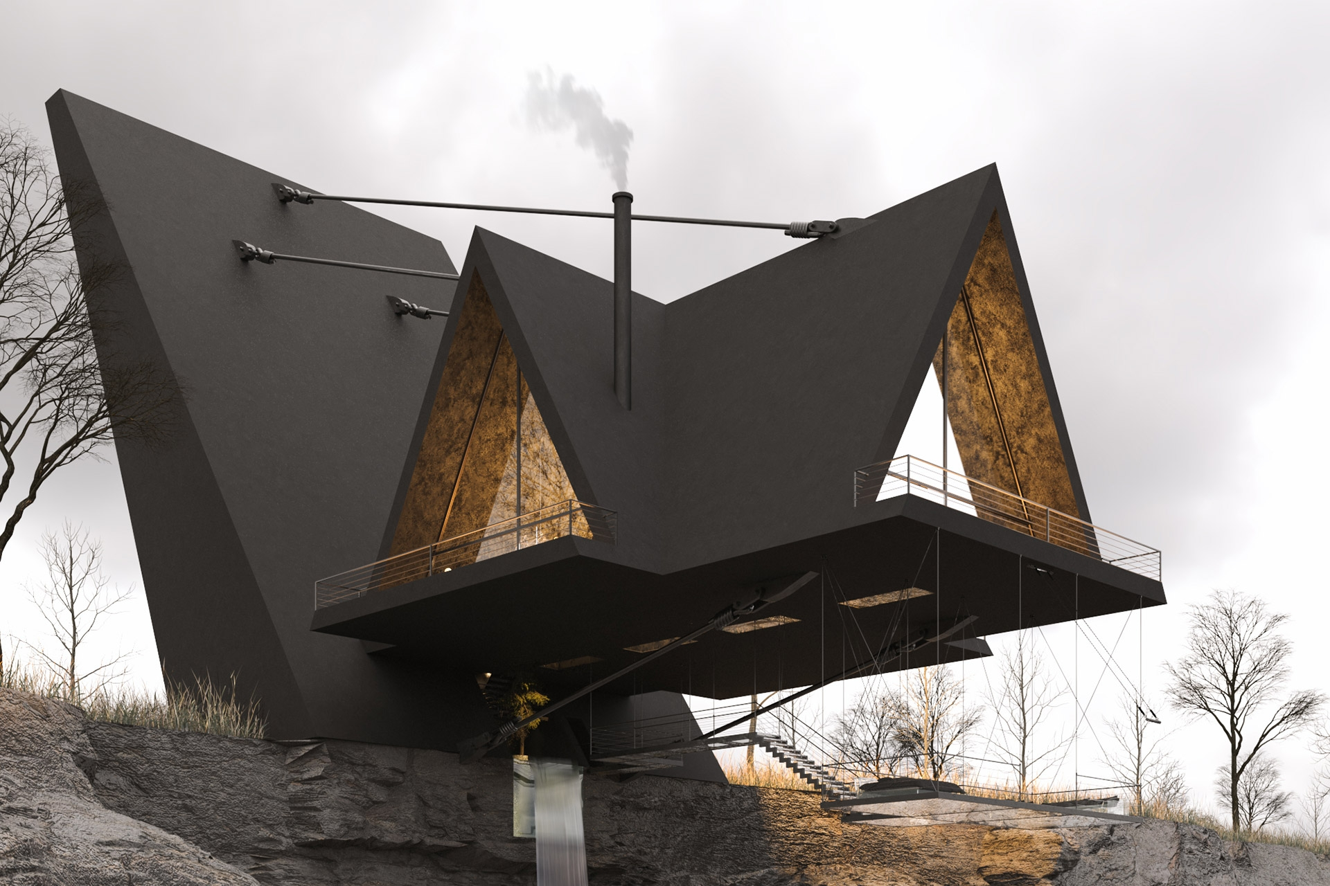 suspended house 1 1