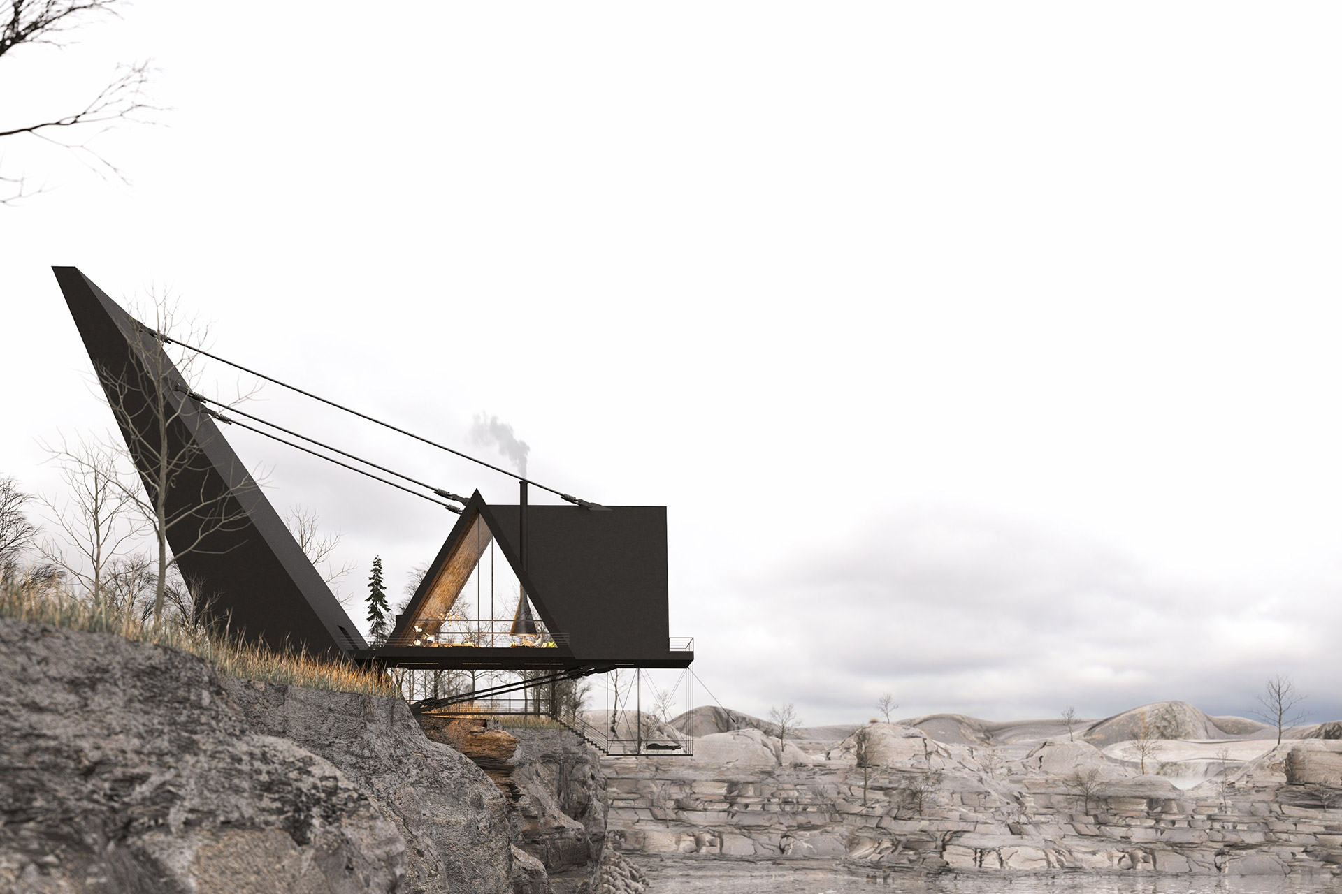 suspended house 3