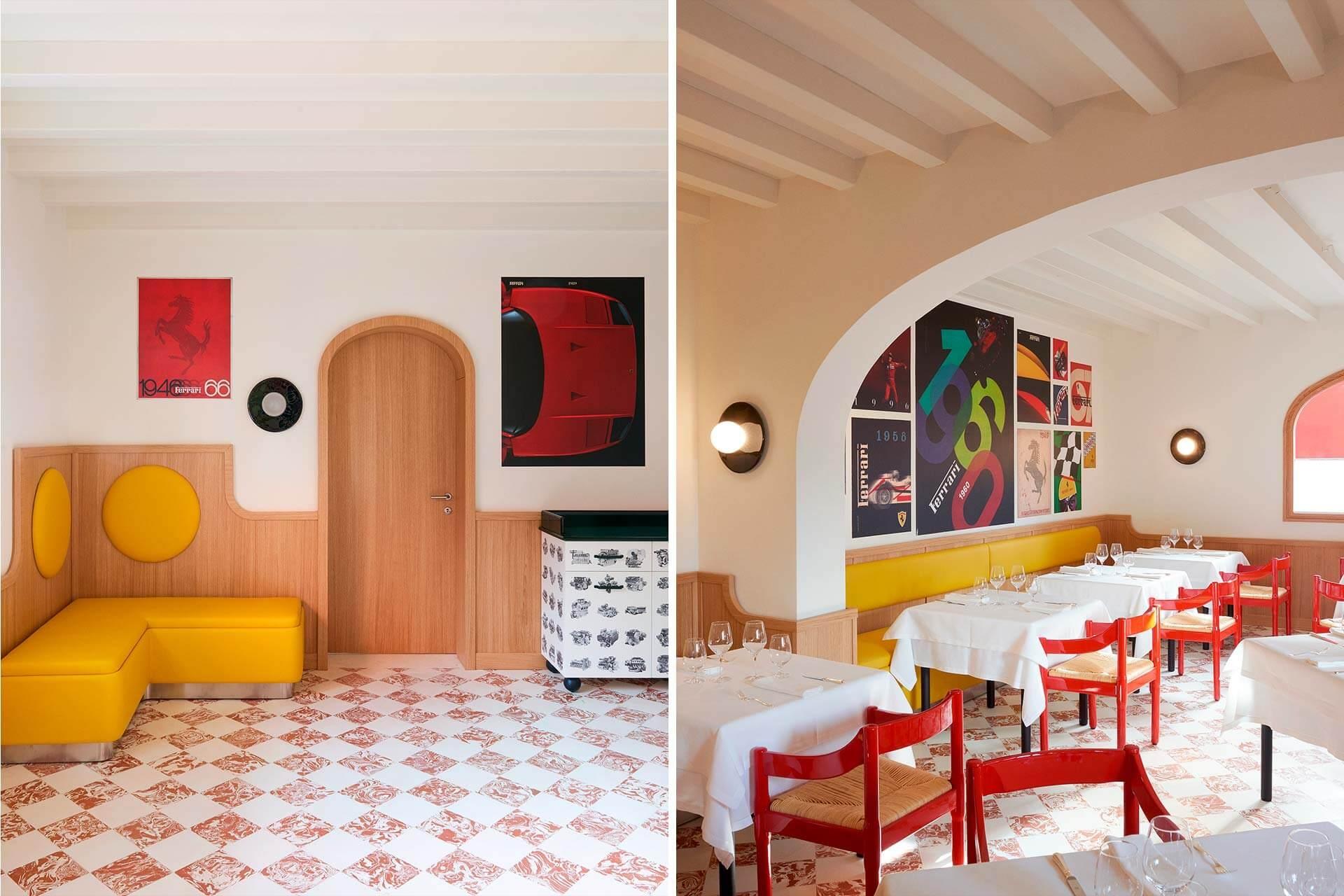 cavallino bottura ferrari massimo restaurant ©courtesy of bottura