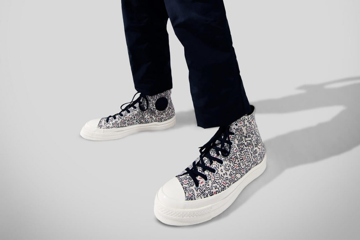https hypebeast.com image 2021 05 keith haring converse collaboration chuck taylor all star 70 pro leather run star hike release info 1