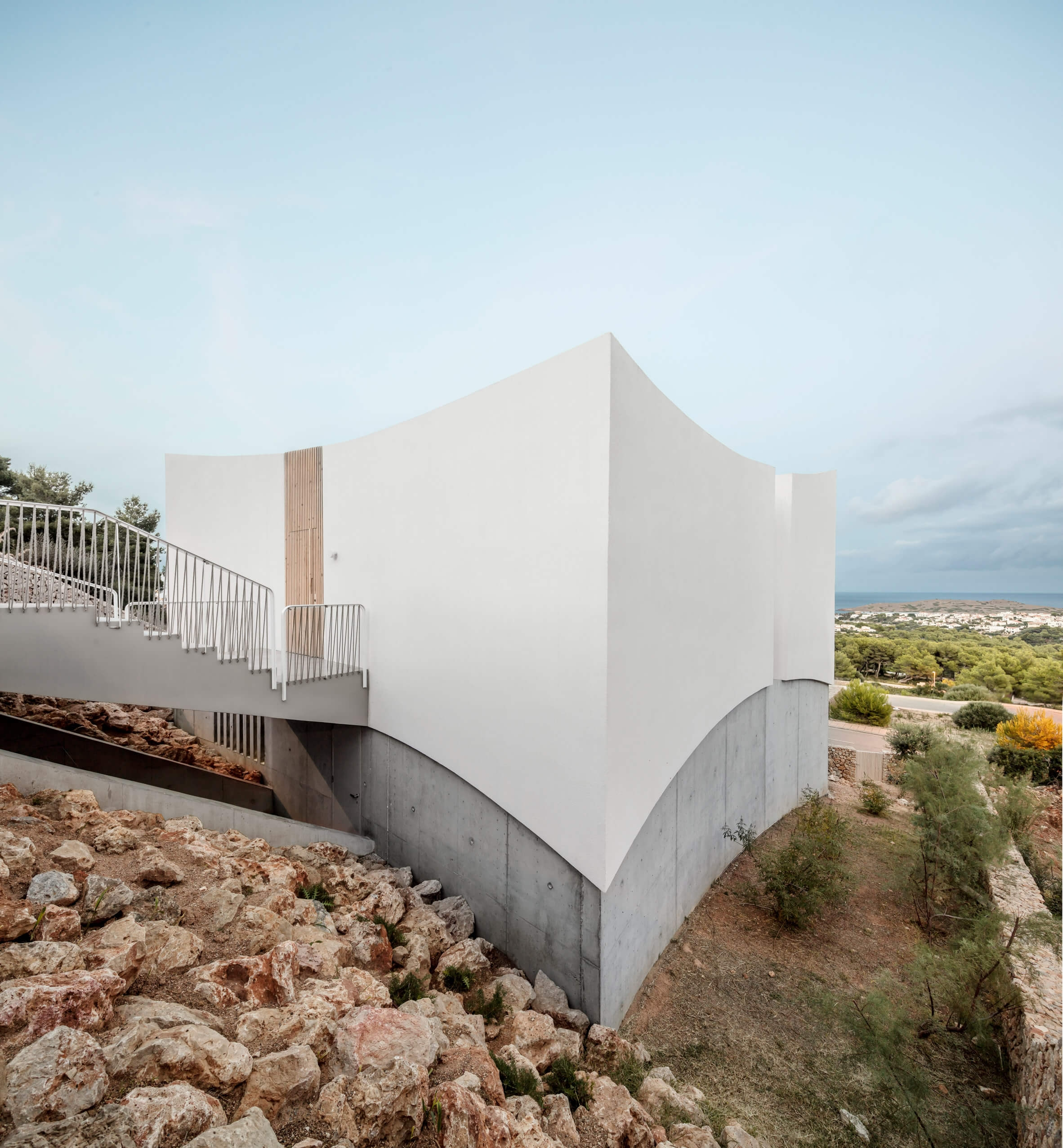 nomo studio curved house menorca spain architecture residential dezeen 2364 col 25
