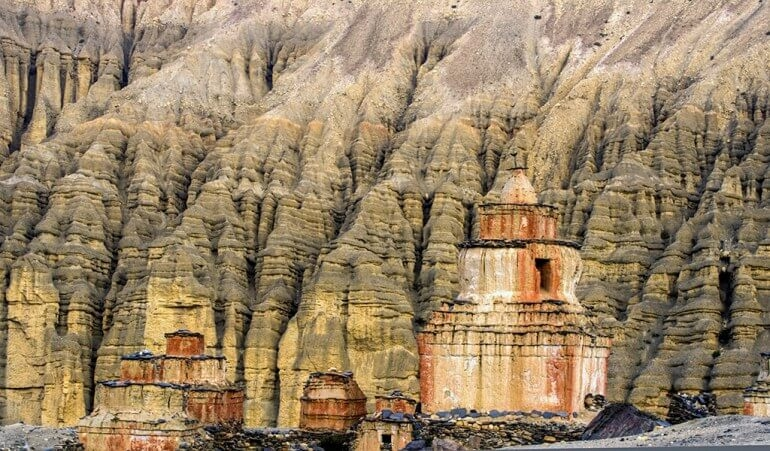 Doug Steakley Nepal ChortenNearGhami