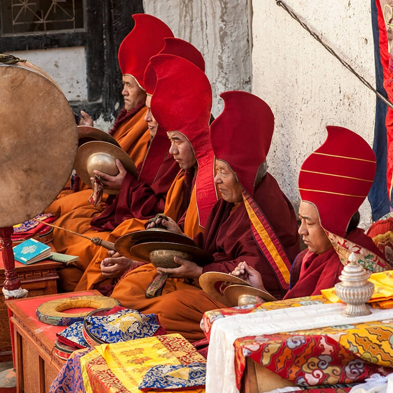 Doug Steakley Nepal Musicians