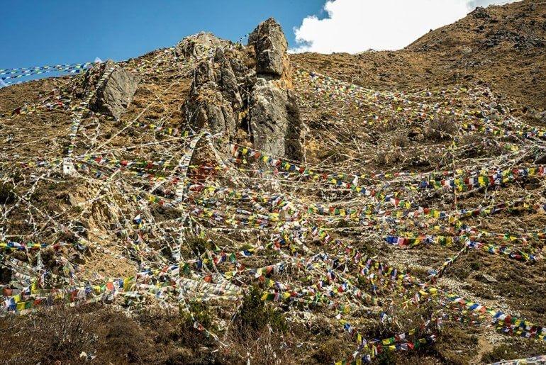 Doug Steakley Nepal PrayerFlagsAboveMuktinath