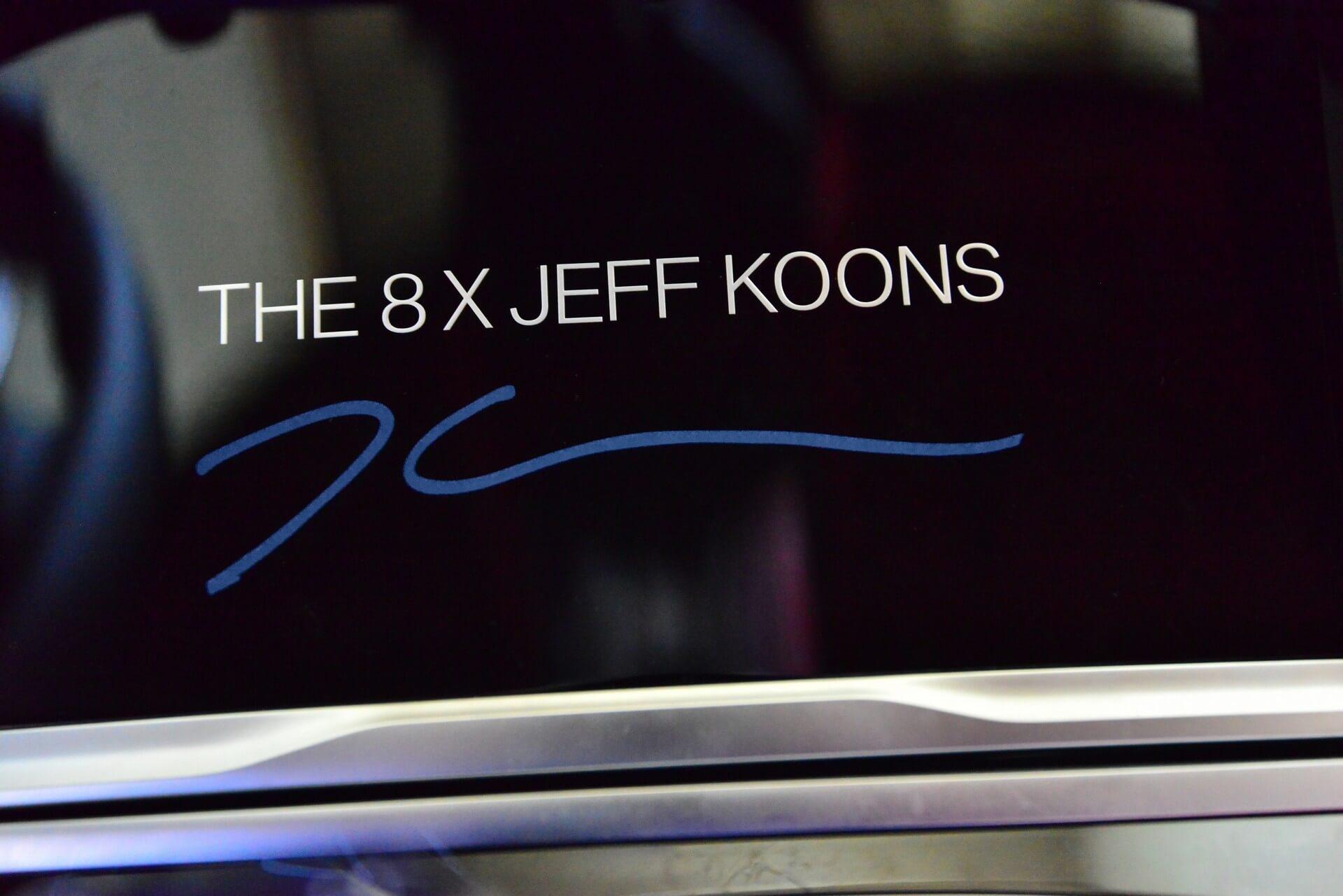 2022 BMW 8 x Jeff Koons 3