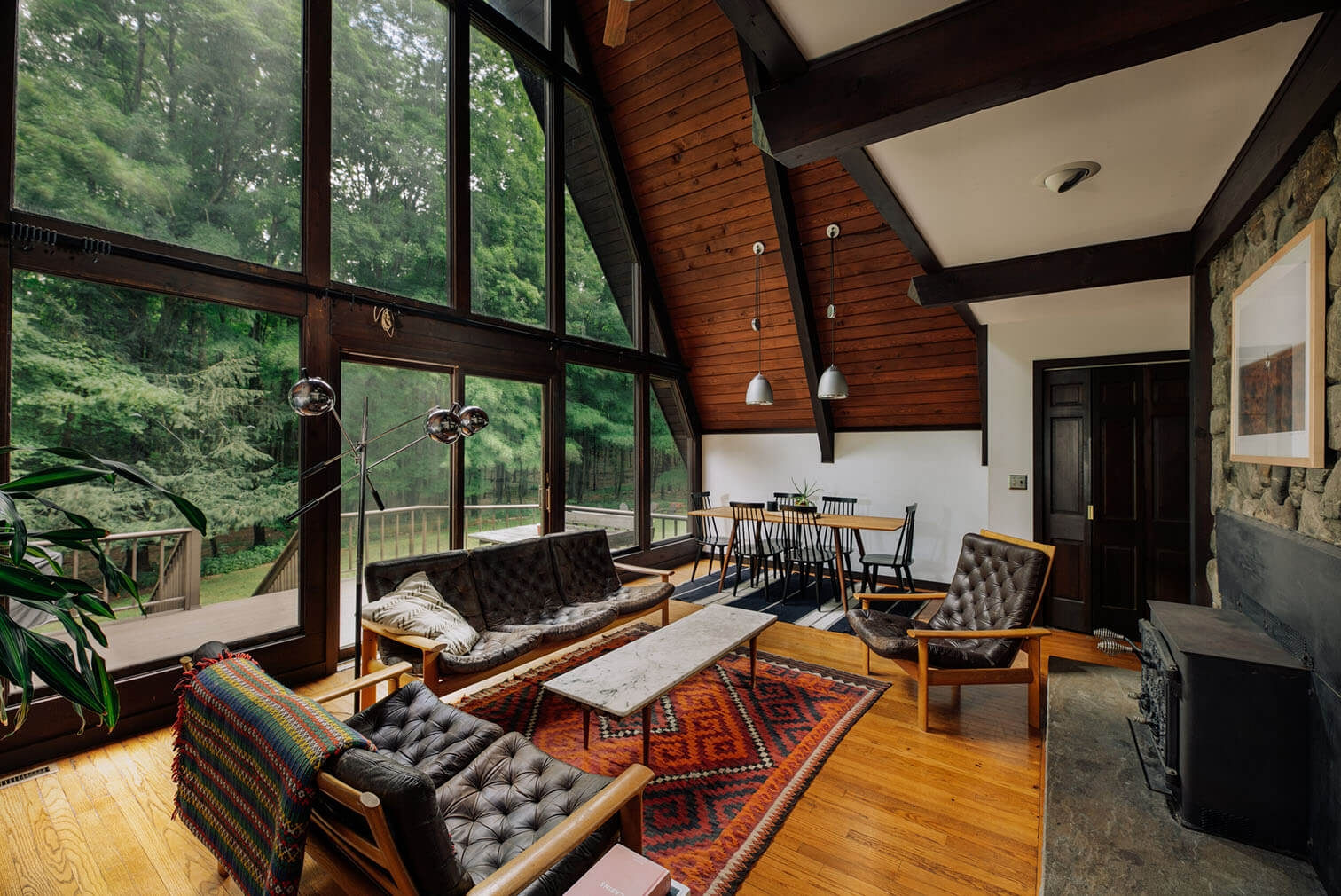 A frame cabin for sale New York Willow Glen Road39