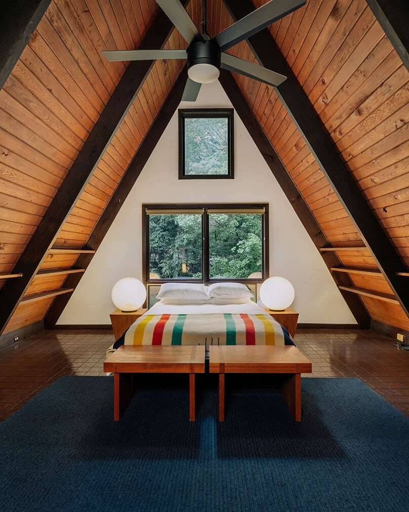 A frame cabin for sale New York Willow Glen Road43