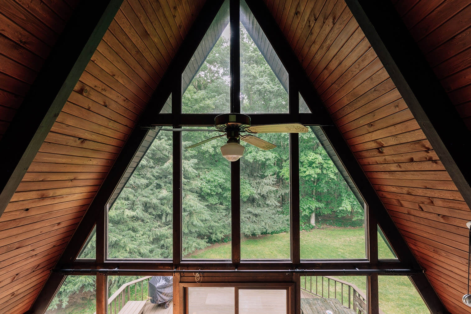 A frame cabin for sale New York Willow Glen Road45