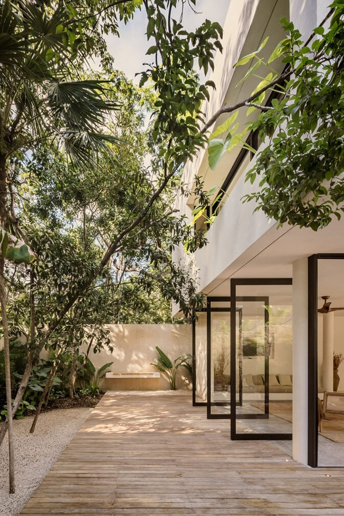 Casa Areca by CoLab in Tulum Mexico Photography by Cesar Bejar 3