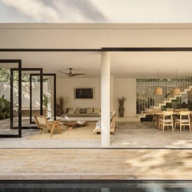 Casa Areca by CoLab in Tulum Mexico Photography by Cesar Bejar 6
