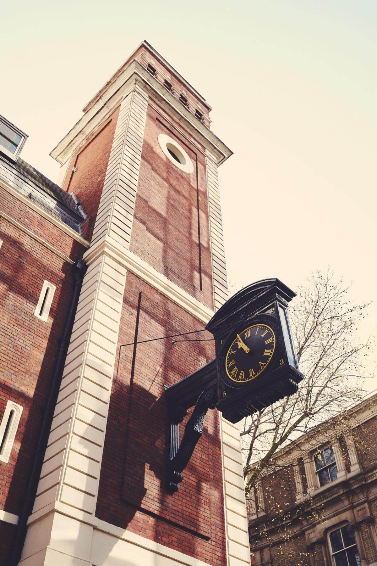 benjamin mcmahon the old rectory tower and clock